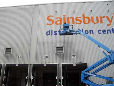cladding cleaning for warehouses
