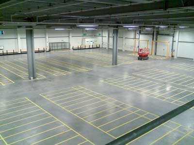 after clean reports provided for our warehouse cleaning service